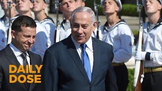 First Meeting of Netanyahu and Ukrainian President Zelensky