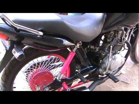 Honda CG FAN 125 COM SUSPENSÂO A AR