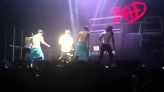 Mindless Behavior's All Around The World Tour 2013 : Mindle