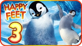 Happy Feet Walkthrough Part 3 (Wii, PS2, PC, Gamecube) ♬ Movie Game ♩ Level 7 - 8 - 9