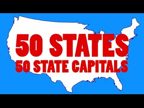 watch Learn the 50 US State Capitals and 50 State Abbreviations | 50 States Song