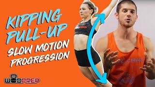 How To Do Kipping Pull Ups (Slow Motion Progression)