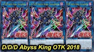 【YGOPRO】D/D/D ABYSS KING GILGAMESH OTK DECK 2018