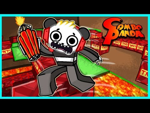 Roblox TNT Rush THE FLOOR IS LAVA Let s Play with Combo Panda