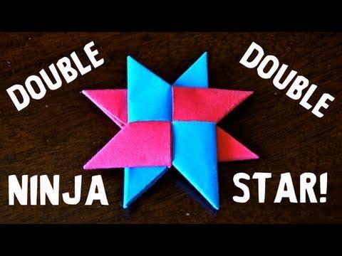 How to Make a Double Ninja Star DIST 8 Rob s World