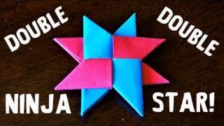 How to Make a Double Ninja Star (DIST-8) - Rob's World