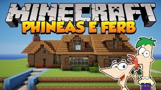 Minecraft: Como construir a casa de Phineas e Ferb