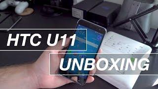HTC U11 Unboxing & First Impressions