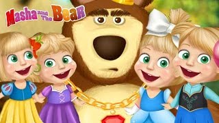 Masha And The Bear MOST POPULAR Disney Princess Dress Up (Маша и Медведь) Funny Game For Kids