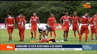 Julio Comesaña, DT de Junior, en Win Noticias   Win Sports