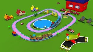 train cartoon - train cartoon for children - cartoon train - train - chu chu train