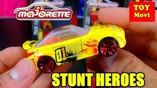 Majorette Autos Spielzeug 5er Set Kinder Auto Film Stunt Heroes Spielzeugautos