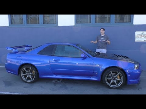 Here s a Tour of a USA Legal R34 Nissan Skyline GT R