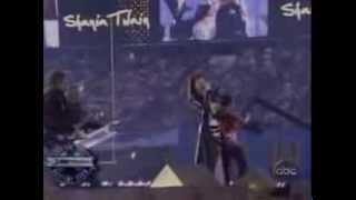 Shania Twain, Man! I Feel Like a Woman and Up!, Live in Super Bowl 2003