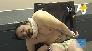 Disturbing Footage Of Mentally Ill Inmates Facing Abuse