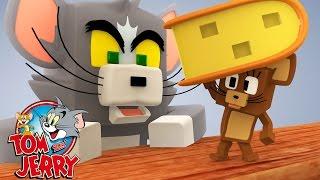 Minecraft: ROUBOU MINHA COMIDA! #01 ( TOM  E JERRY )
