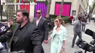 Jennifer Lopez & Boyfriend Alex Rodriguez On Romantic Lunch Date In NYC