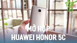Vật Vờ| Mở hộp & trên tay Huawei Honor 5C: thiết kế đẹp, vân tay nhạy, camera chuyên nghiệp