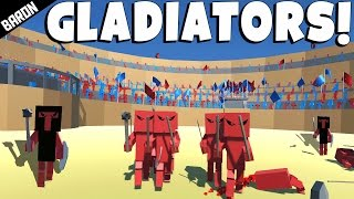 To the DEATH!  Gladiator Arena - Ancient Warfare 2 Gameplay