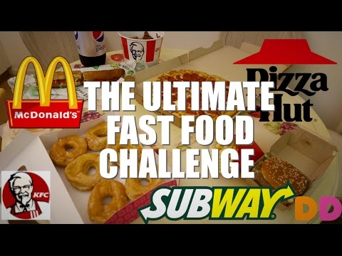 THE ULTIMATE FAST FOOD CHALLENGE (8000+