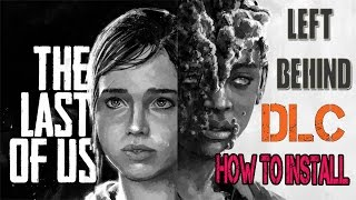 How To Install The Last Of Us Dlc On PS3