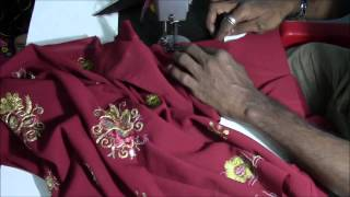 Punjabi Suit Tutorial   Kameez (Top) Stitching