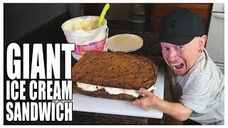 How to Make the Best Giant Ice Cream Sandwich | Verne Troyer