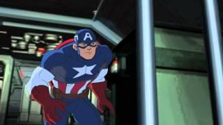 Mega Spider-Man - Kapitan Ameryka. Oglądaj w Disney XD!