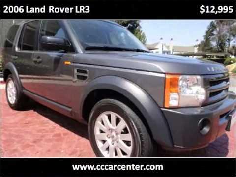 2006 Land Rover LR3 Used Cars San Carlos CA