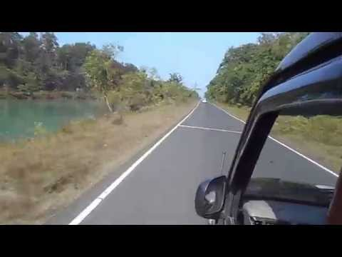 Along the Teesta Canal Video -Jalpaiguri- Experience West Bengal Sweetest Part of Incredible India