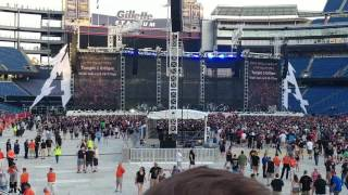 Volbeat Live 2017 at the WorldWired Tour with Metallica in Foxboro Mass