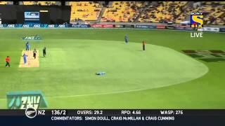 India vs New zealand 5th ODI Highlights HD | Wellington | New Zealand 1st innings