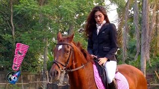 Nabila Syakieb Suka Olahraga Berkuda - Cumicam 28 Oktober 2015
