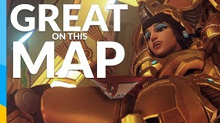 Pharah is great on this map | Overwatch: Competitive