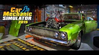 Car Mechanic Simulator 2015 لعبة تصليح السيارات (واقعية)