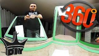 HOW TO: Build a glass aquarium in 360°