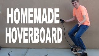 Homemade Hoverboard part 2!!!