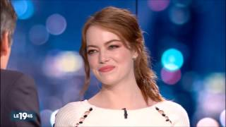 Emma Stone and Ryan Gosling - French TV Interview on Jan 10
