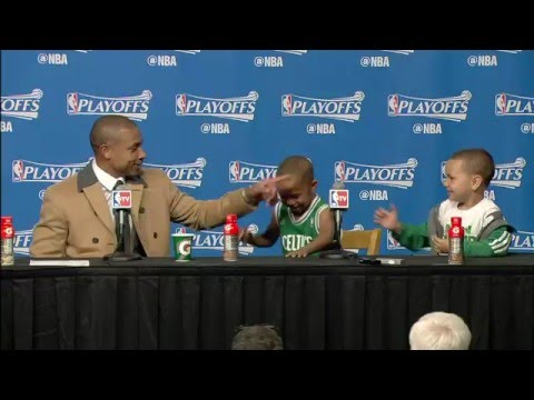 Isaiah Thomas Sons Steal the Post Game Press Conference
