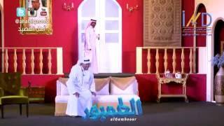 بشير غنيم لسعد الفرج ودي اصدق بس قوية - مسرحية الطمبور