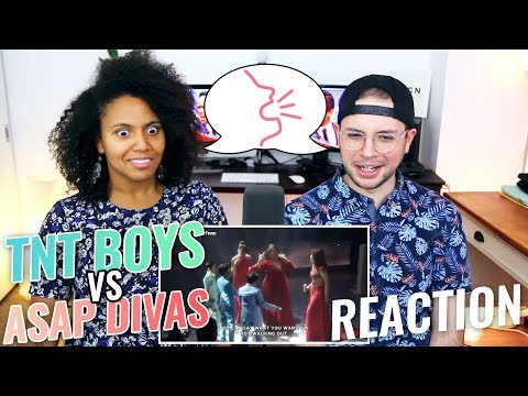 TNT Boys vs. ASAP Divas ASAP VS REACTION