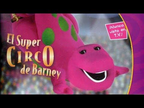 Barney El Súper Circo de Barney Parte 1