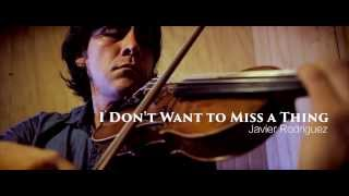I Don't Want to Miss a Thing (Violin)