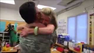 Soldiers Surprising their Loved ones