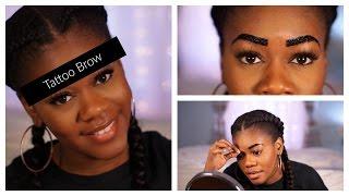 Peel Off Eyebrow Tattoo - Etude House Brow Gel