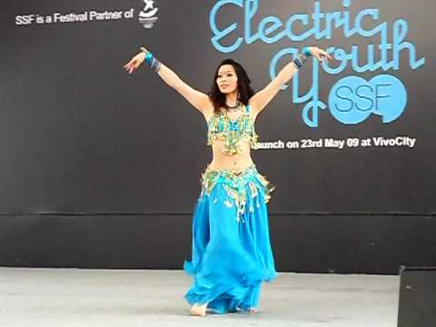 Asia Global Belly Dance Competition 2009 Traditional 3rd Place Winner Wen Yu from Taiwan
