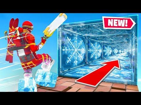 The MEGA Ice Trap Escape Run In Fortnite