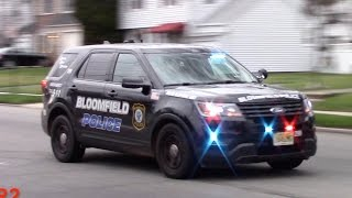Police Car Responding Compilation Part 1