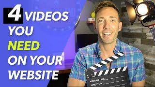 Video Marketing For Your Business: The 4 Videos You Need