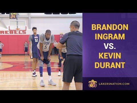 watch Kevin Durant, Brandon Ingram Team USA Scrimmage Footage